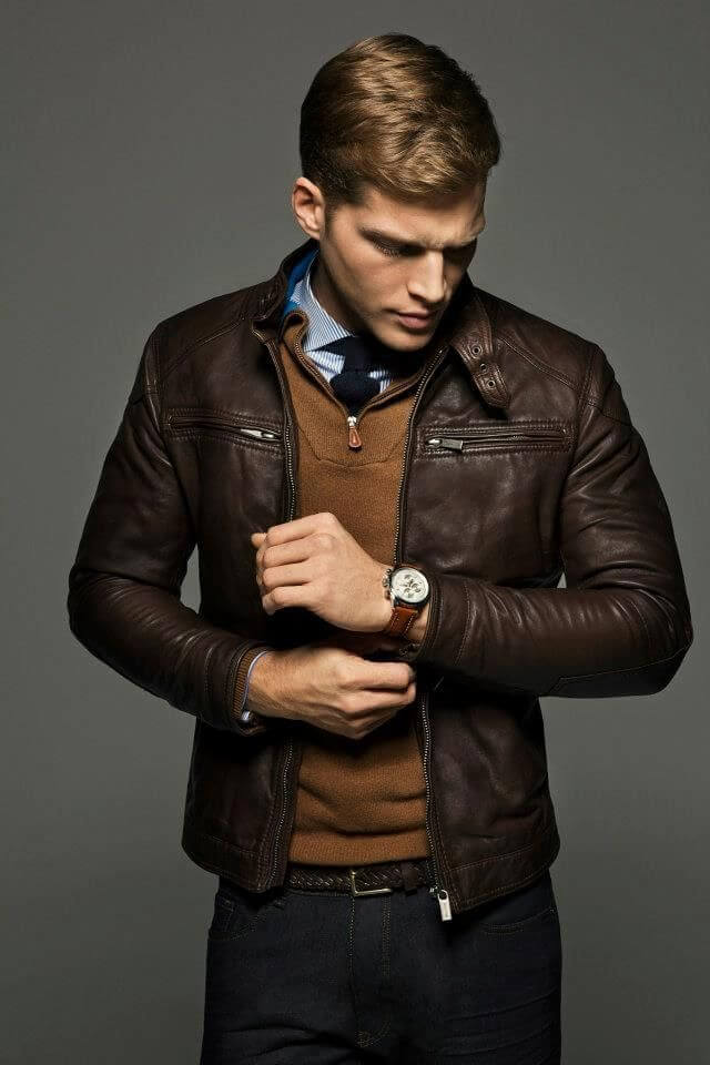 Free shipping BOTH ways on mens leather jackets, from our vast selection of styles. Fast delivery, and 24/7/ real-person service with a smile. Click or call