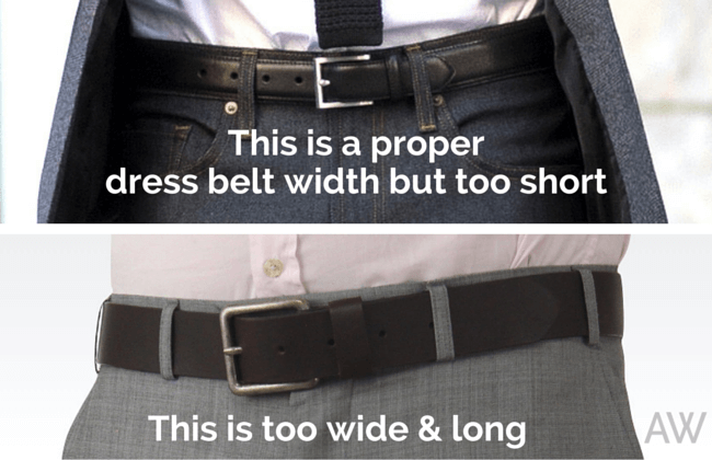 Dress Belts Too Short Long Thick - Ashley Weston