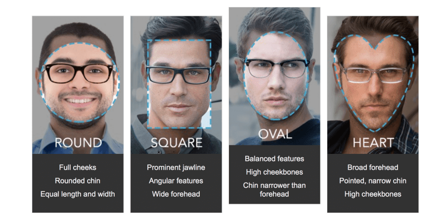 How To Find Your Face Shape Sunglasses Glasses Men Man Ashley Weston2