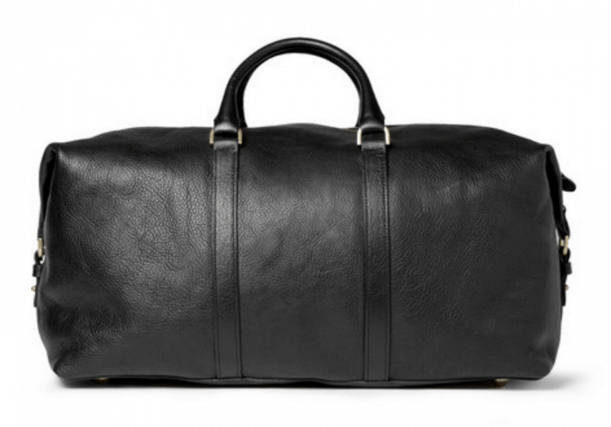 Mulberry Clipper Leather Holdall Bag Ashley Weston Weekender Bag Black