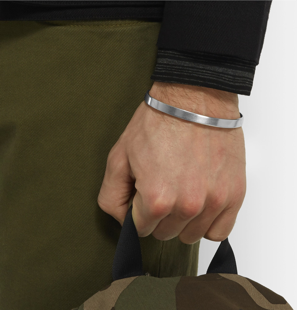 Maison Margiela Silver Cuff - Ashley Weston