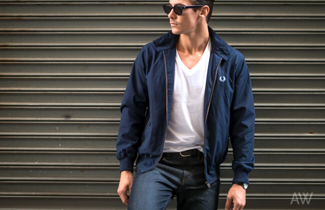 Harrington-Jacket-Header-Ashley-Weston-Mens-Wardrobe-Essentials