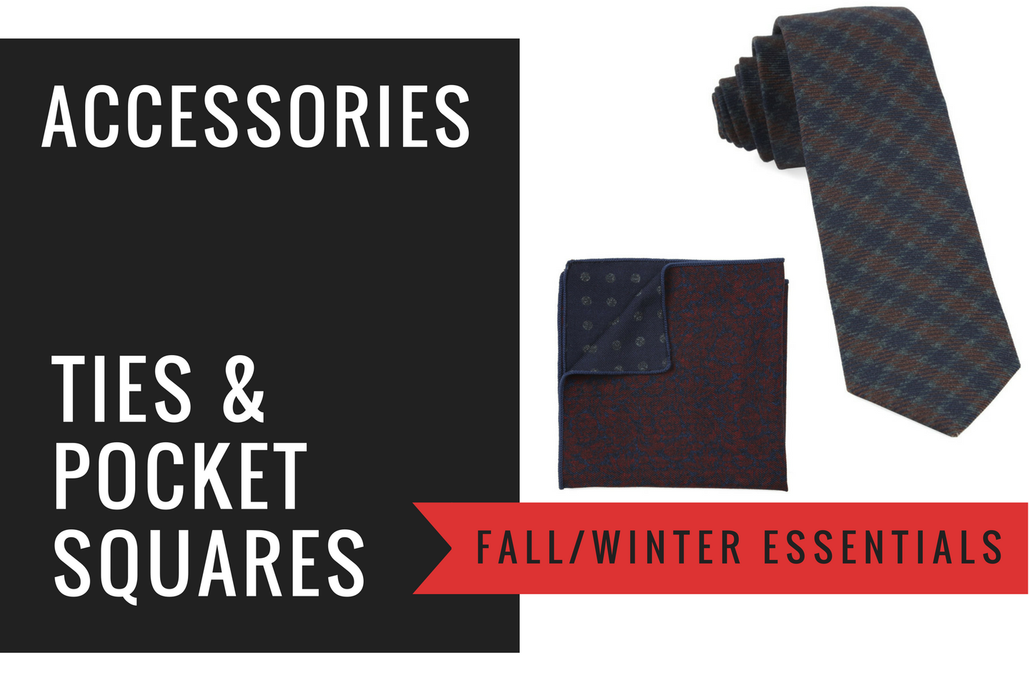 28bd71a2b9c80 Wool Ties & Pocket Squares For Fall & Winter - Men's Essentials
