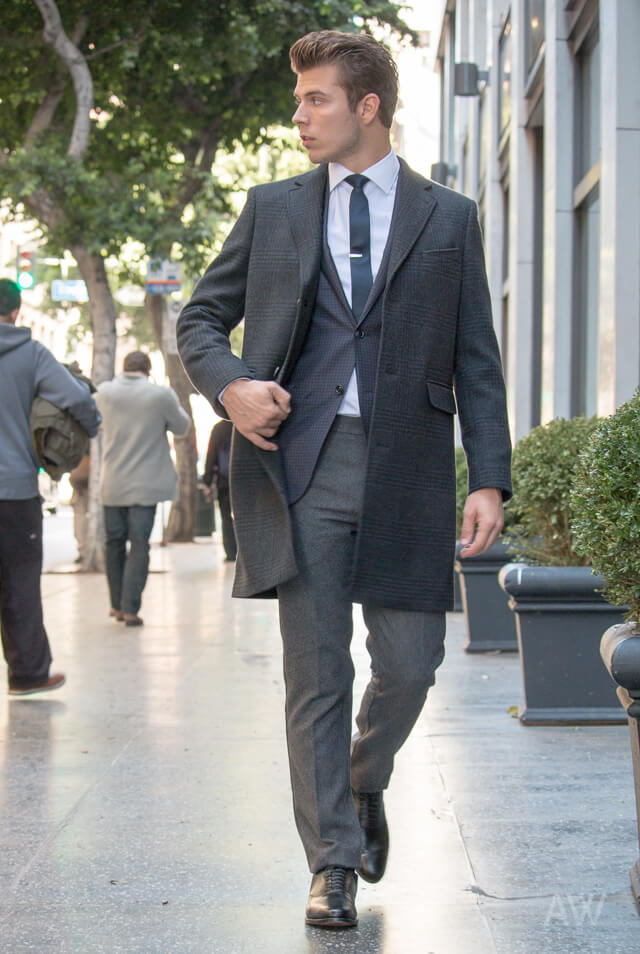 Best Men's Overcoats & Peacoats Ashley Weston