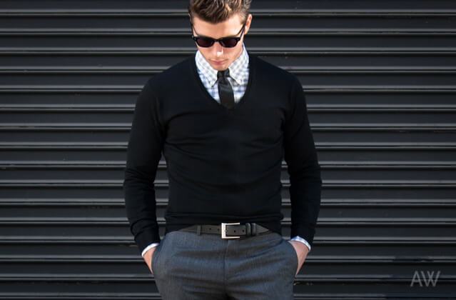 Mens fashion collared shirts 12