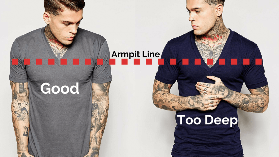 705403b7cf7cb1 How Should A T-Shirt Fit  - Men s Clothing Fit Guide