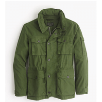 J. Crew Field Mechanic Olive Jacket