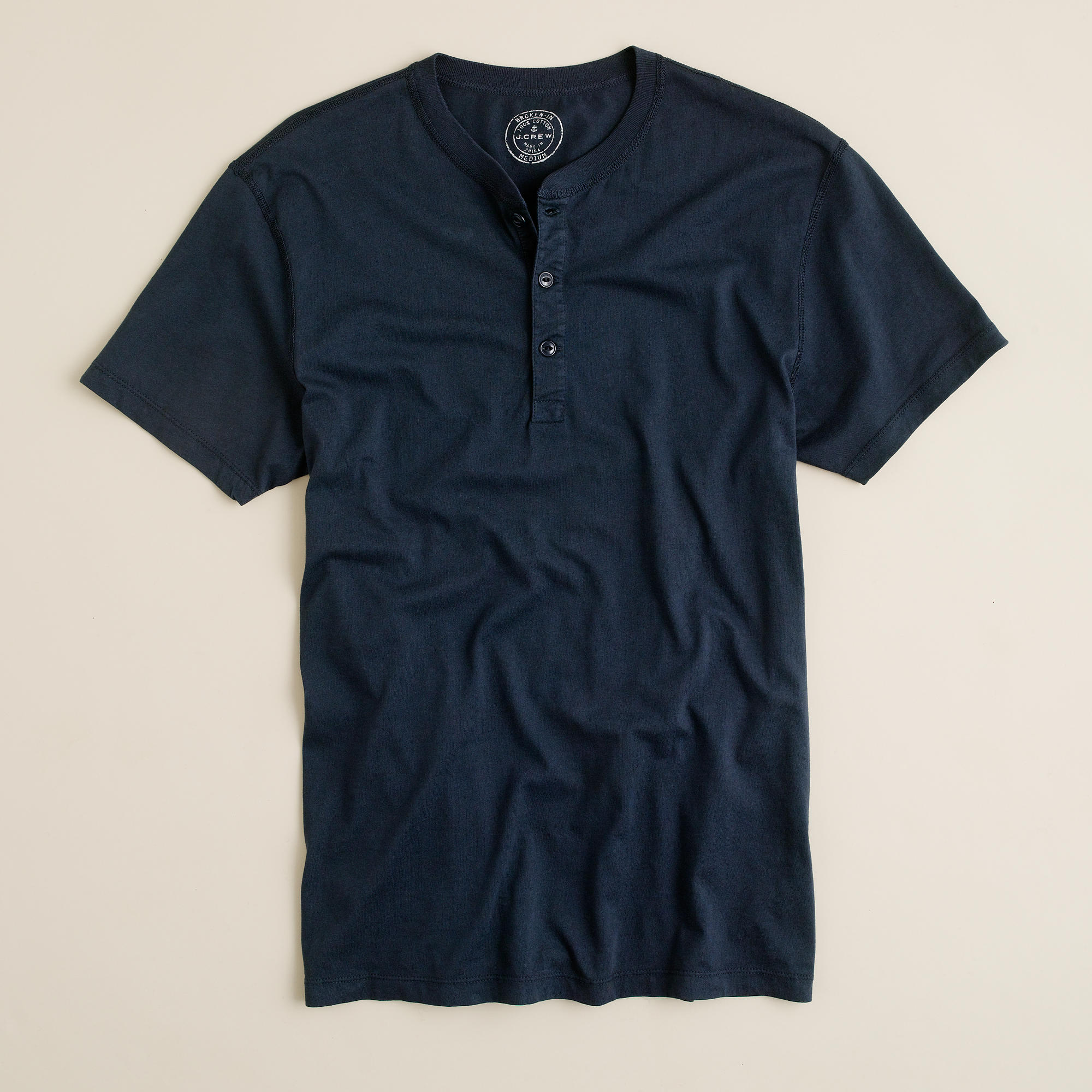 Short Sleeve Henley 1 Ashley Weston