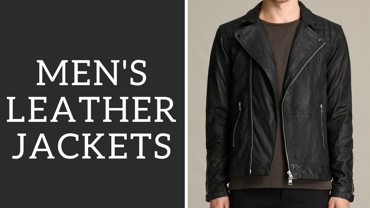 Men S Leather Jackets How To Wear Them Bomber Motorcycle Ashley Weston