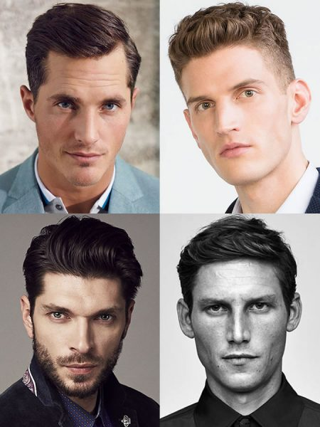 Awesome Men's Hairstyle For Diamond Shaped Face Pictures