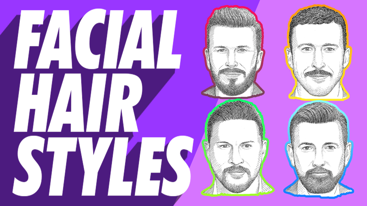 Best Men's Facial Hair or Beard Styles and Types 2020